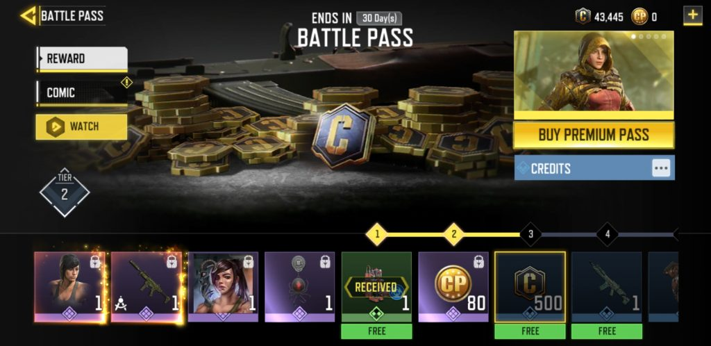 Battle Pass in COD Mobile